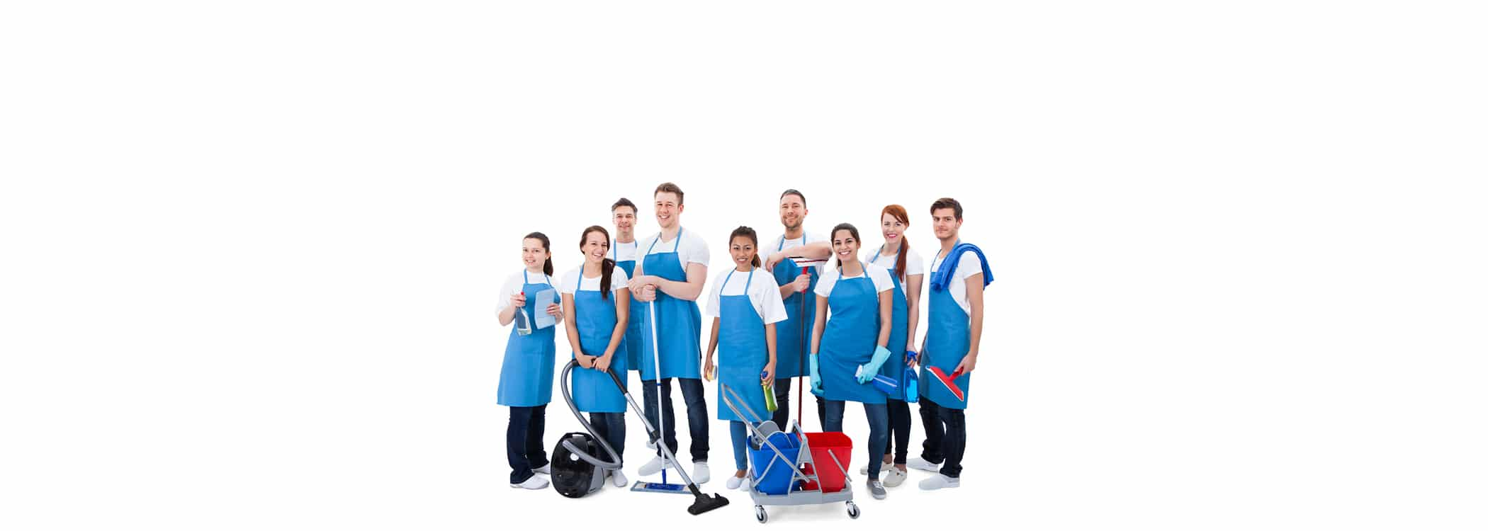 Cleaners at your service