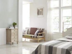 bedroom windows cleanup